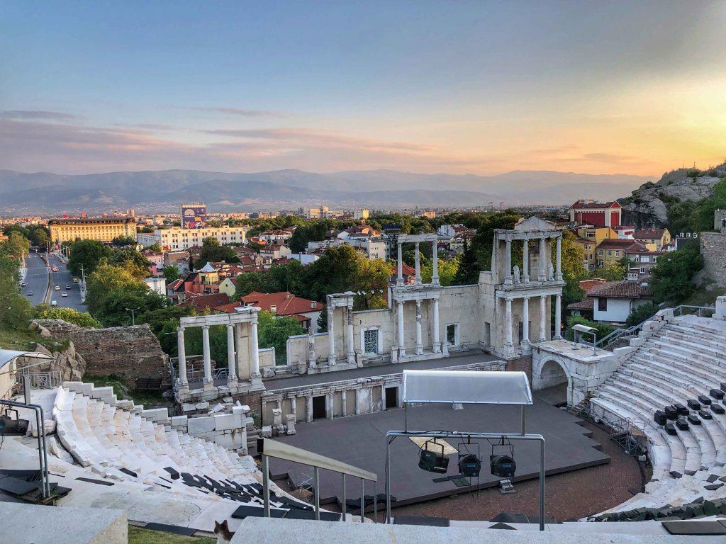 Treffen mit Frank-Walter Steinmeier in Plovdiv (Bulgarien)
